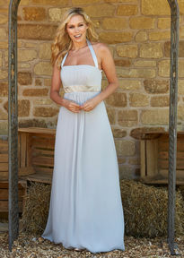 Halter Neck Bridesmaids Dress