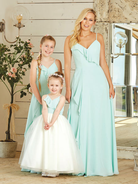 Chiffon Bridesmaid Set