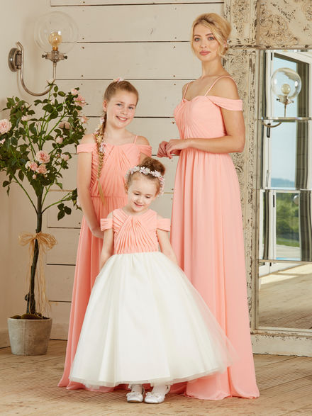 Off the Shoulder Bridesmaid Set