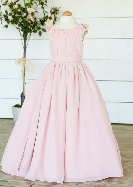 Chiffon Flowergirl Dress