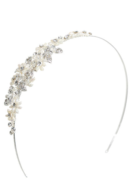 AW1096 Pearl and Diamante Sideband
