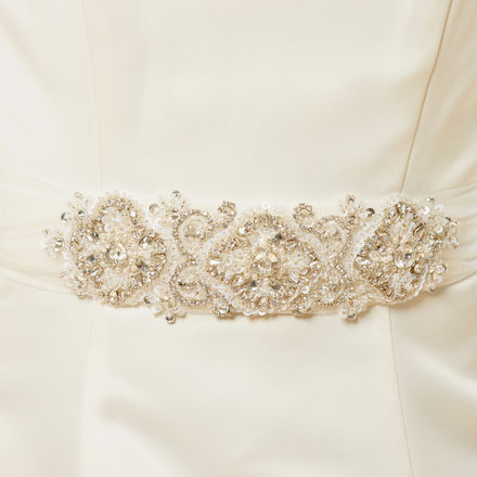 AW1202 Diamante Bridal Belt