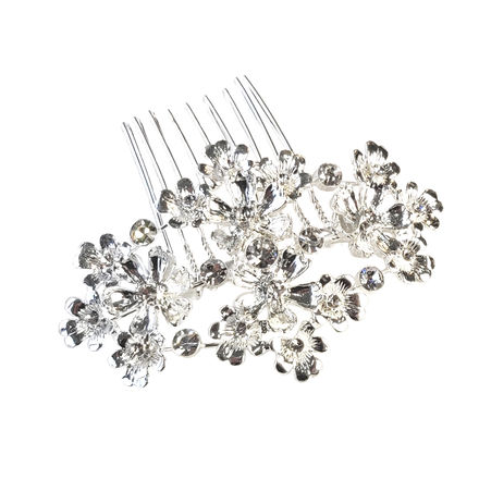 AW1303 Small Flower Bridal Comb