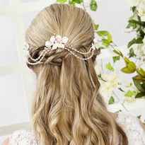 Love-In-Idleness Hair Drape