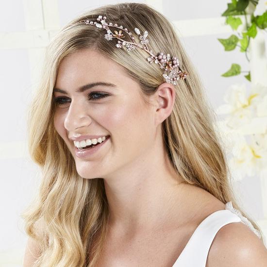 dd0d82d45f800 AR557, Blossom Hair Vine by Arianna Tiaras