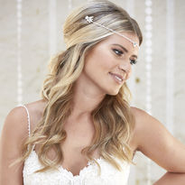 Dina Draped Headpiece