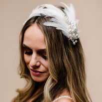 Odette Feather Headband