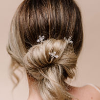 Crystal Bright Star Hairpins