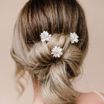 Double Flower Hairpins