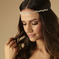 Pearl & Diamante Browband