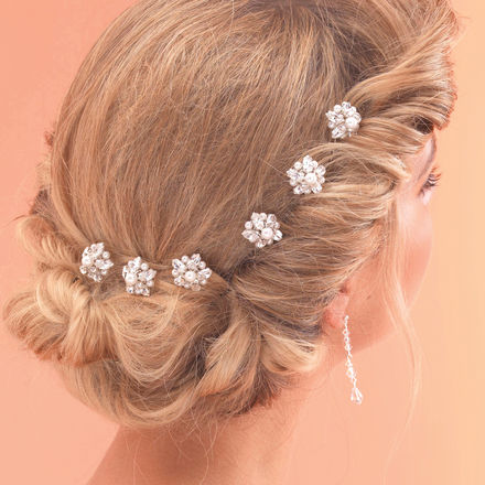 Set of 6 Pearl Hairpins