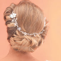 Diamante Bridal Hair Vine