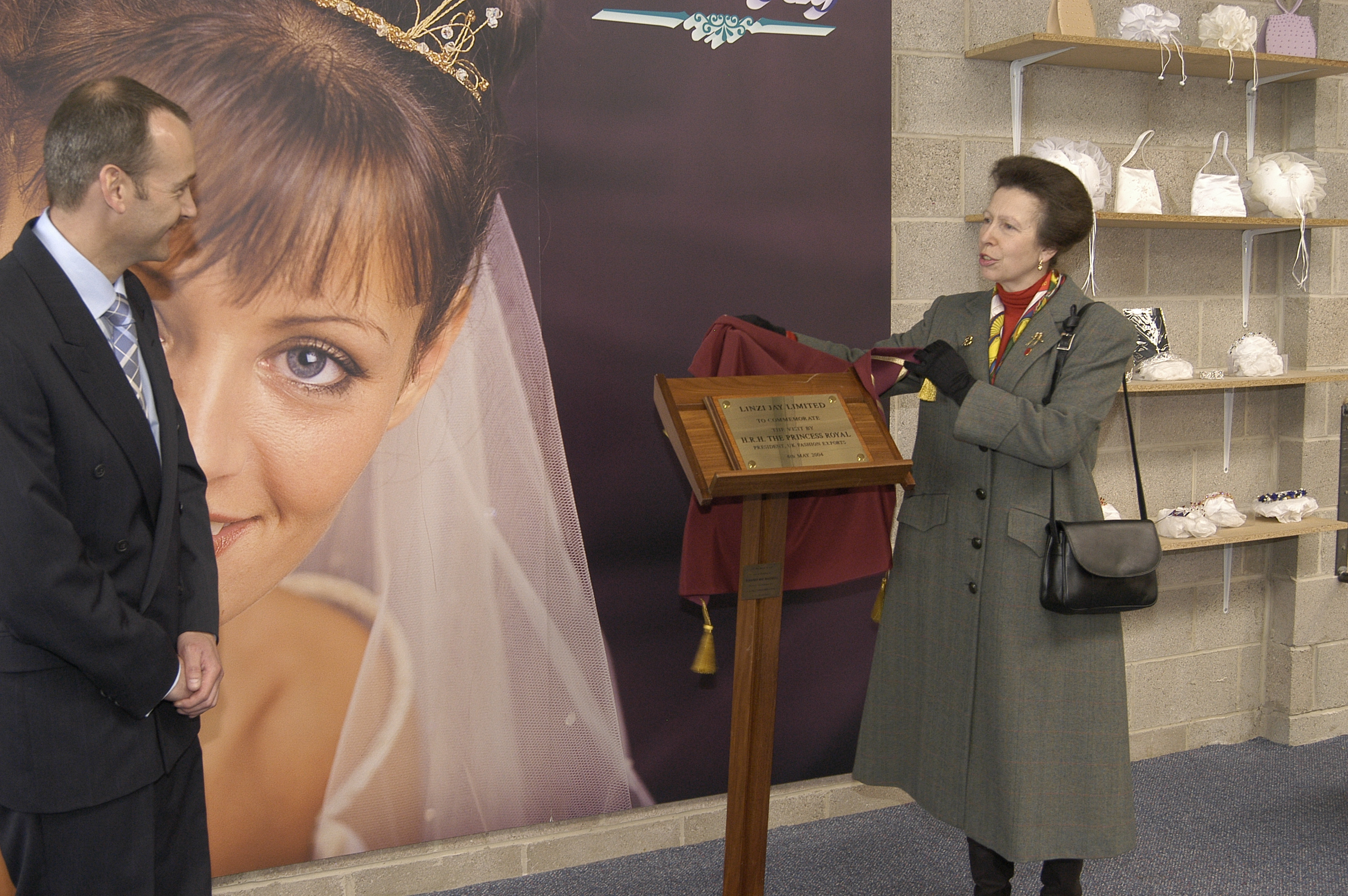 Princess Ann Visit 04.05.2004 153