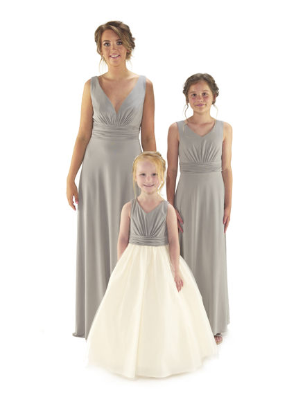 Soft Stretch Jersey Bridesmaid Dress