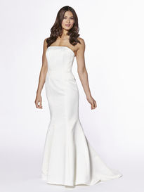 Satin Mermaid Wedding Base Dress