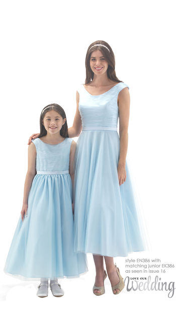 50\'s Style Ballerina Length Dress