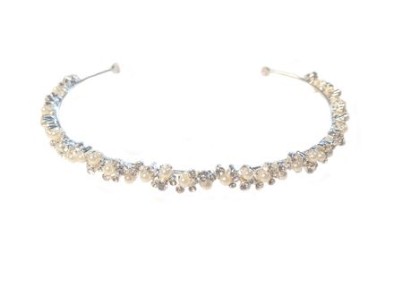 Delicate Pearl & Diamante Headband