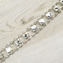 Diamante Chain Design Bridal Belt