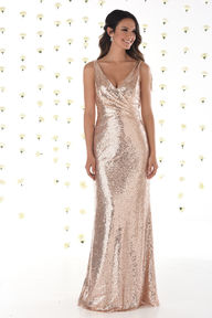 Allover Sequin Bridesmaids Dress