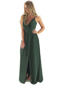 Grecian Style Bridesmaid Dress with Split