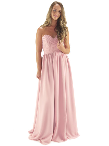 Sweetheart Neckline Bridesmaid Dress