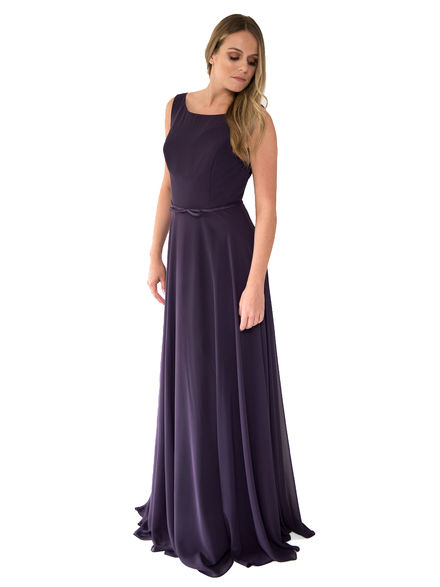 Keyhole Back Bridesmaid Dress