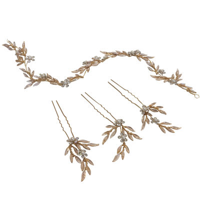 Hairvine with 3 Matching Hairpins