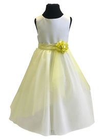 Tulle & Flower Overskirt (Dress not Included)