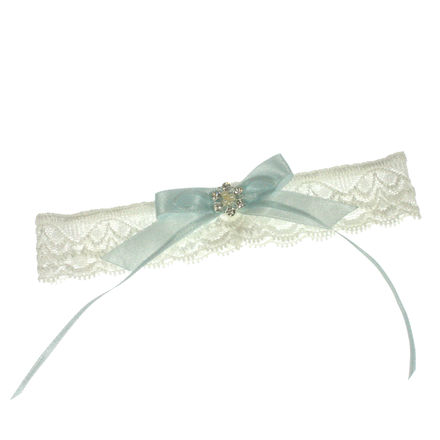 Soft Lace Bridal Garter