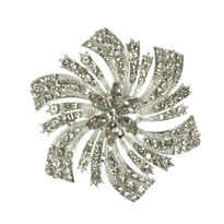 Diamante Spray Bridal Brooch