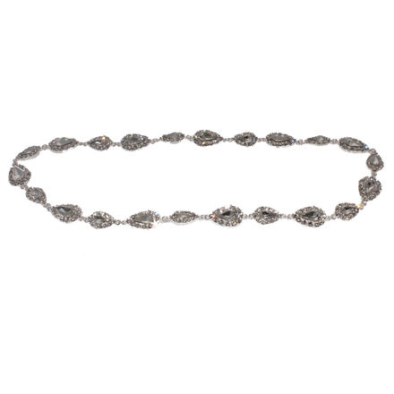 Full Circle Hair Ornament Diamante