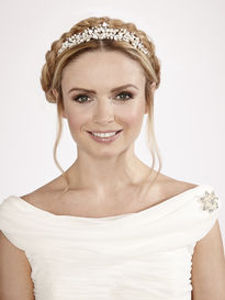 Leaves & Flowers Bridal Tiara