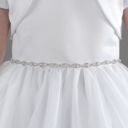 Diamante Chain Communion Belt