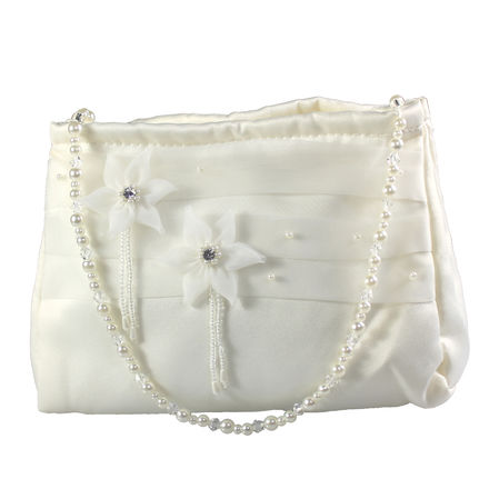 Beaded Flower Childs Bag