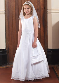 Sleeveless Communion Dress