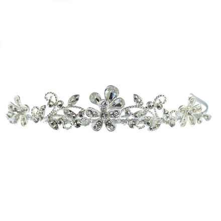 Intricate Diamante Design Small Tiara