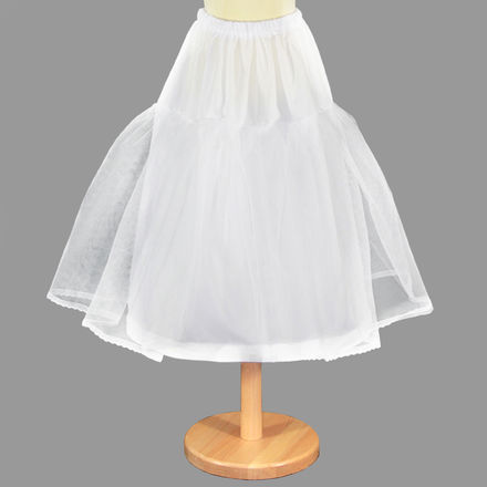 Child's Underskirt with Hoop and Net